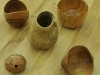 Assortment of turned bowls