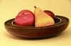 John Spitters,Bowl&Fruit,Maple&Cherry,Dyes pyography&wipe-on-poly