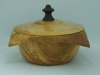 Chris Scarrow,square bowl,Maple,salad bowl,wax,President Challenge