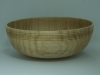 Al Timms,figured maple bowl,beeswax