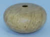 John Spitters, maple burl hollow form,wipe-on-poly