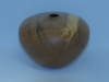 John Spitters, red alder hollow form,wipe-on-poly