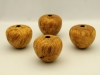 John Spitters,Maple Burl Mini Hollow Forms, wipe-on-poly