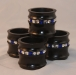 Instant Gallery-Beverly Pears-Napkin Rings-Maple-Acrylic Paint Bling