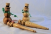 Instant Gallery-Roger Pitts-Xmas Ornaments-Various Wood-Various Finish