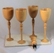 Jay Mapson-Goblets and Bottle Stopper-Old Growth Douglas Fir-Unknown