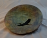 Jay Mapson -Platter - Carved Heron - Maple - WO Poly