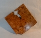 Jay Mapson - Square platter - Maple Burl - WO Poly - 2nd view