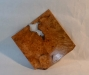 Jay Mapson - Square platter - Maple Burl - WO Poly