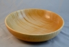 "10"" fruit bowl - maple - tung oil w/Beall buffing and carnuba wax - Al Timms"