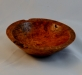James Casson - 4 in. bowl - maple burl - stain lacquer-