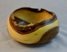 PC - Keith Robinson - Bowl - Black Walnut turned green, microwave dried - wipe on poly finish