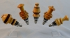 Allan Cusworth - Bottle stoppers - Various woods - Wipe on poly