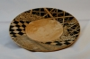 Gloria Herberts Zentangle Plate Maple Poly finish Black is archival pen not pyrography