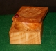 Michael-Hamilton-Clark-Box-3-in.-square-Figured-Maple-Tung-Oil-Boiled-Linseed-oil-and-thinners-3-coats