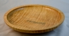 Lance Rossington - Rimmed Platter - 11 x 2.25 - Maple - quilt -Wipe on Poly - 8 coats