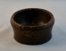 Michael Hamilton-Clark - Bowl - 3.5 x 2 - Black Palm Heart - Salad bowl wax