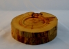Michael Hamilton-Clark - Natural Edge Box - 4.5 x 1.5 - Pine & Paduk - Salad Bowl wax