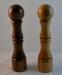 President's Challenge - Bob Askew - Salt Shaker & Peppermill - 2.75 in x 12 in. - Walnut & Maple - Tung Oil