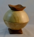 President's Challenge - Lidded Bowl with 3 woods - 2 maple, walnut - 3 in. high - BB Shine Juice