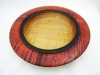 John Spitters Decorated Bowl 11-in x 2-in Maple Dye + Wipe-on Poly